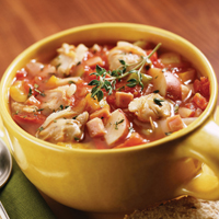 Confetti Clam Soup: Main Image
