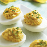 Super-Creamy Deviled Eggs: Main Image