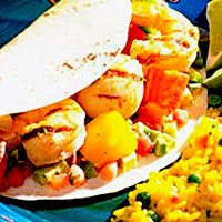 Shrimp & Scallop Fajitas: Main Image