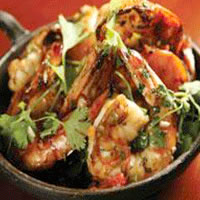 Shrimp in a Tequila Garlic Sauce: Main Image