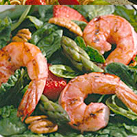 Summertime Grilled Shrimp Salad: Main Image
