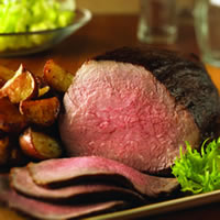 master.k.m.us.TBCO BBQRubbedBeefRoast Smoky Paprika Rubbed Beef Tenderloin with Roasted Root Vegetables