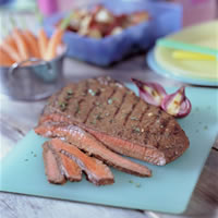 Balsamic Marinated Flank Steak: Main Image