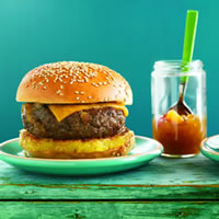 Calypso Beef Burgers: Main Image