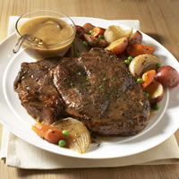 Classic Beef Pot Roast with Root Vegetables: Main Image