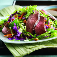 East Meets West Steak Salad: Main Image