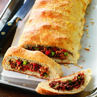 Italian Beef &amp;amp; Cheese Calzone: Main Image