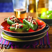 Picadillo-Stuffed Jalape�o Peppers: Main Image