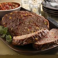 Southwest Meatloaf: Main Image