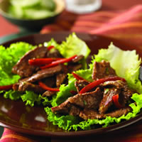 Thai Beef Wok 'n Roll-Ups: Main Image