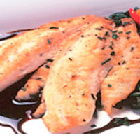 Tilapia Fillets with Balsamic Reduction: Main Image