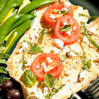 Trout with Herbs and Feta Cheese: Main Image