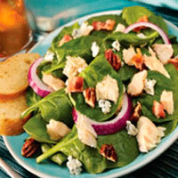 Tuna Spinach Salad: Main Image