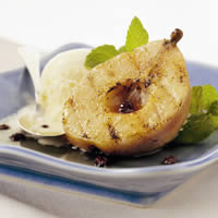 Grilled Pears with Currants: Main Image