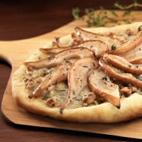 Pear, Gorgonzola, and Walnut Pizza: Main Image