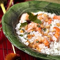 Bangkok Rice and Shrimp Salad: Main Image