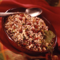 Creamy Pancetta Rice: Main Image