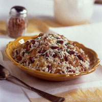 Creamy Red Beans and Rice with Caramelized Onions: Main Image