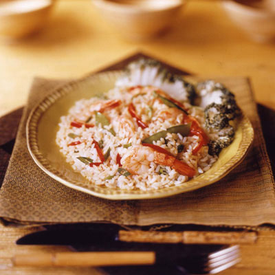 Gingered Rice Shrimp Salad: Main Image