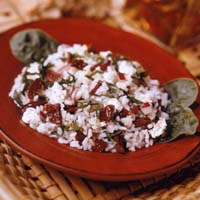 Greek Garden Rice Salad: Main Image