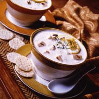 Lemon Velvet Chicken Rice Soup: Main Image