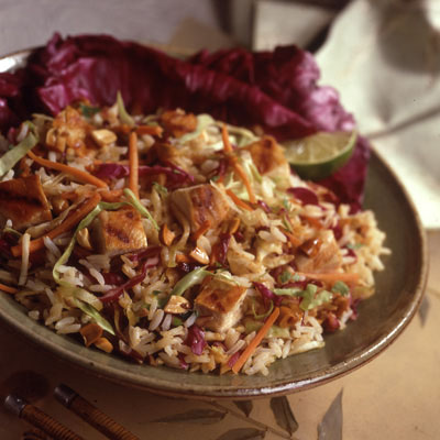 Spicy Thai Chicken Salad: Main Image