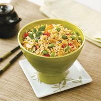Teriyaki Chicken & Edamame Rice Bowls: Main Image