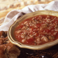 Tuscany Rice And Bean Soup: Main Image