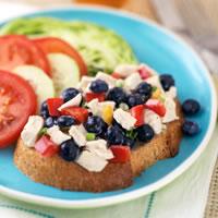 All-American Chicken Blueberry Salad Platter: Main Image