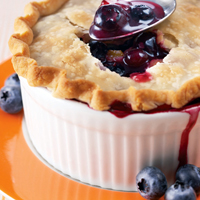 Blueberry-Apricot Pot Pies: Main Image