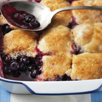 Blueberry Cobbler: Main Image