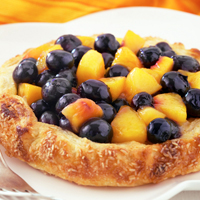 Rustic Blueberry-Nectarine Crostata: Main Image