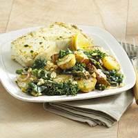 Kale and Potato Salad: Main Image