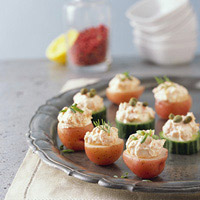 Little Red and Green Appetizers: Main Image