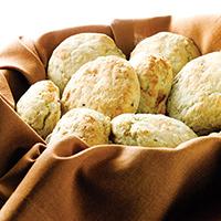 Black Pepper Buttermilk-Potato Biscuits: Main Image