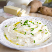 Low-Fat Creamy Mashed Potatoes: Main Image