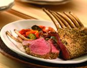 Hazelnut Crusted Rack of Lamb