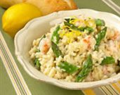 Asparagus and Rock Shrimp Risotto