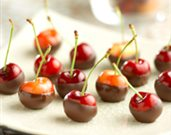 Chocolate-Dipped Cherry Treats