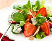 Strawberry and Gorgonzola Salad