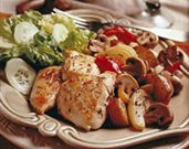Herb Roasted Mushrooms, Chicken, & Vegetables