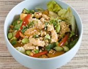 Mandarin Chicken Salad with a Sweet-and-Sour Vinaigrette