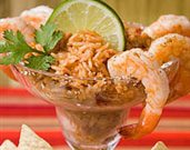 Mexican Margarita Shrimp