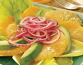 Avocado Citrus Salad with Marinated Onions
