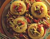 Vegetable Medley Stuffed Onions