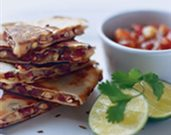 Cumin and Lentil Quesadillas