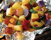 Grilled Potato Bake