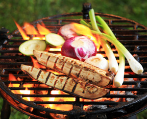 Summer by the Grill: Quickand Lean: Main Image