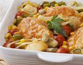 Chicken Brunswick Stew with Roasted Garlic