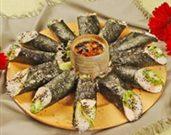 Chicken Nori Salad Rolls